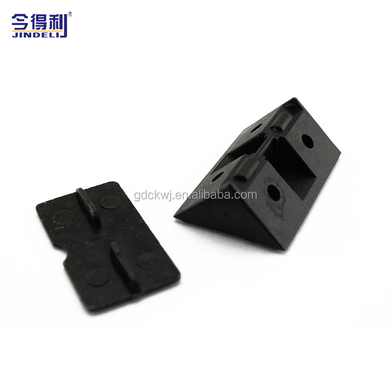 High Precise Injection Plastic Furniture Corner Bracket Connecting Fittings bracket fitting connections