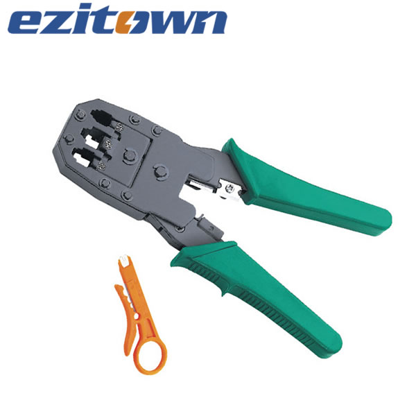 HT-315 Telecom multifunctional connector crimping pliers RJ10 RJ11 RJ12 rJ45 hand telecom crimping tool