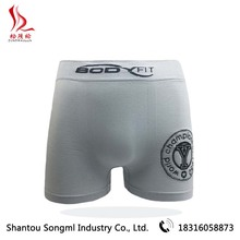 High Quality Seamless 90%Polyamide Fashion Style Men's Underwear Boxers Briefs Made In China