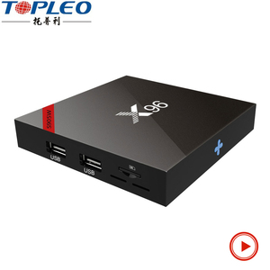 New condition X96W 2GB 16GB web browser internet smart android7.1.2 tv box Support VP9 HDR10 Decoding