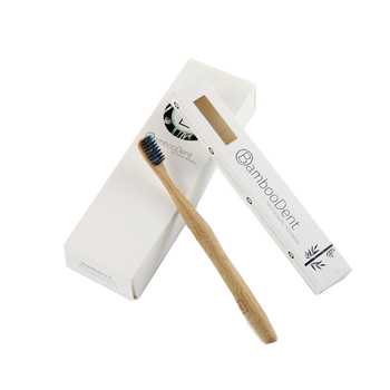 Hot Sale Customized Bamboo Toothbrush Pack 4