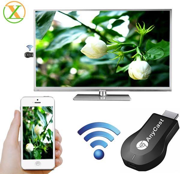 High speed anycast ezcast m2 plus one setting miracast dongle wireless display dongle miracast
