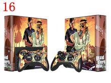 GTA 5 For Microsoft XBOX 360 E Console Skin For X Box Sticker Controller