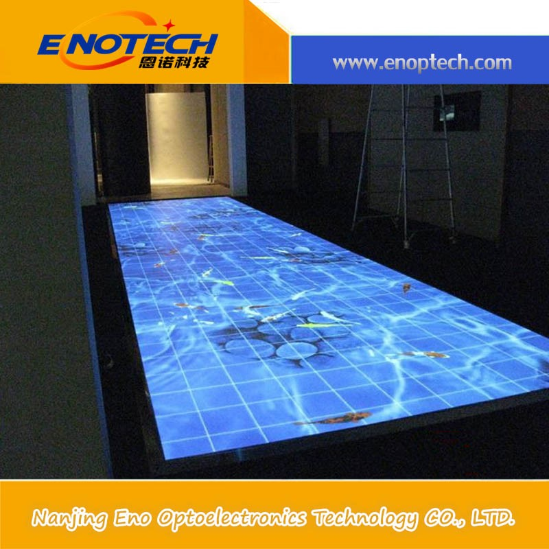 interactive wall mount lcd display bar interactive projection