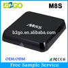 Web Box Tv, m8s Amlogic S812 Ott Tv Box, Ott Ir Remote Control Android Tv Box