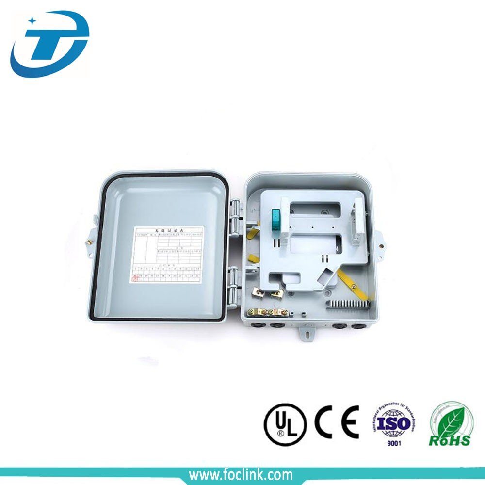 16 core FTTH Outdoor Fiber Optical Terminal Box Splitter Box Distribution box with factory price