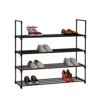 Portable Amazing Storage Cabinet Adjustable Metal Shoe Rack