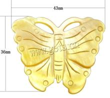 Yellow Shell Butterfly Yellow Butterfly Brooch 791835