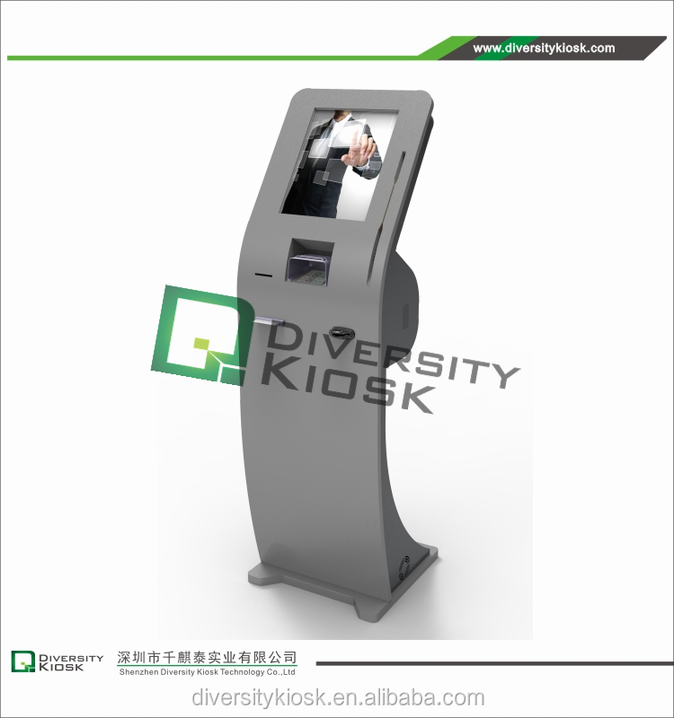 debit and credit card payment kiosk coin acceptor for dvd kiosk