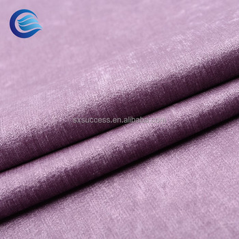 Oem Available Chenille Suede Interlock Outdoor Uv Resistant Sunproof