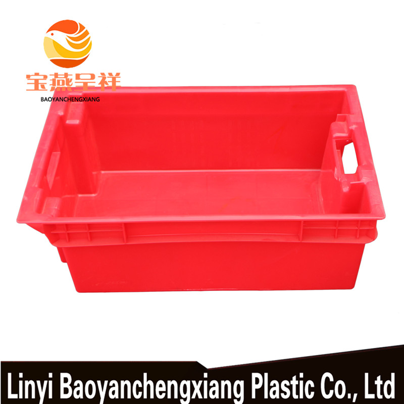 Easy To Use Food Grade Plastic Meat Crate