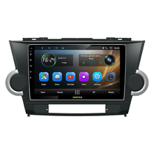 "NaviHua Android Auto Lettore DVD 9 ""Touch Screen Stereo <span class=keywords><strong>Autoradio</strong></span> per Toyota Highlander Vecchio Supporto BT/WiFi/TPMS /macchina fotografica"