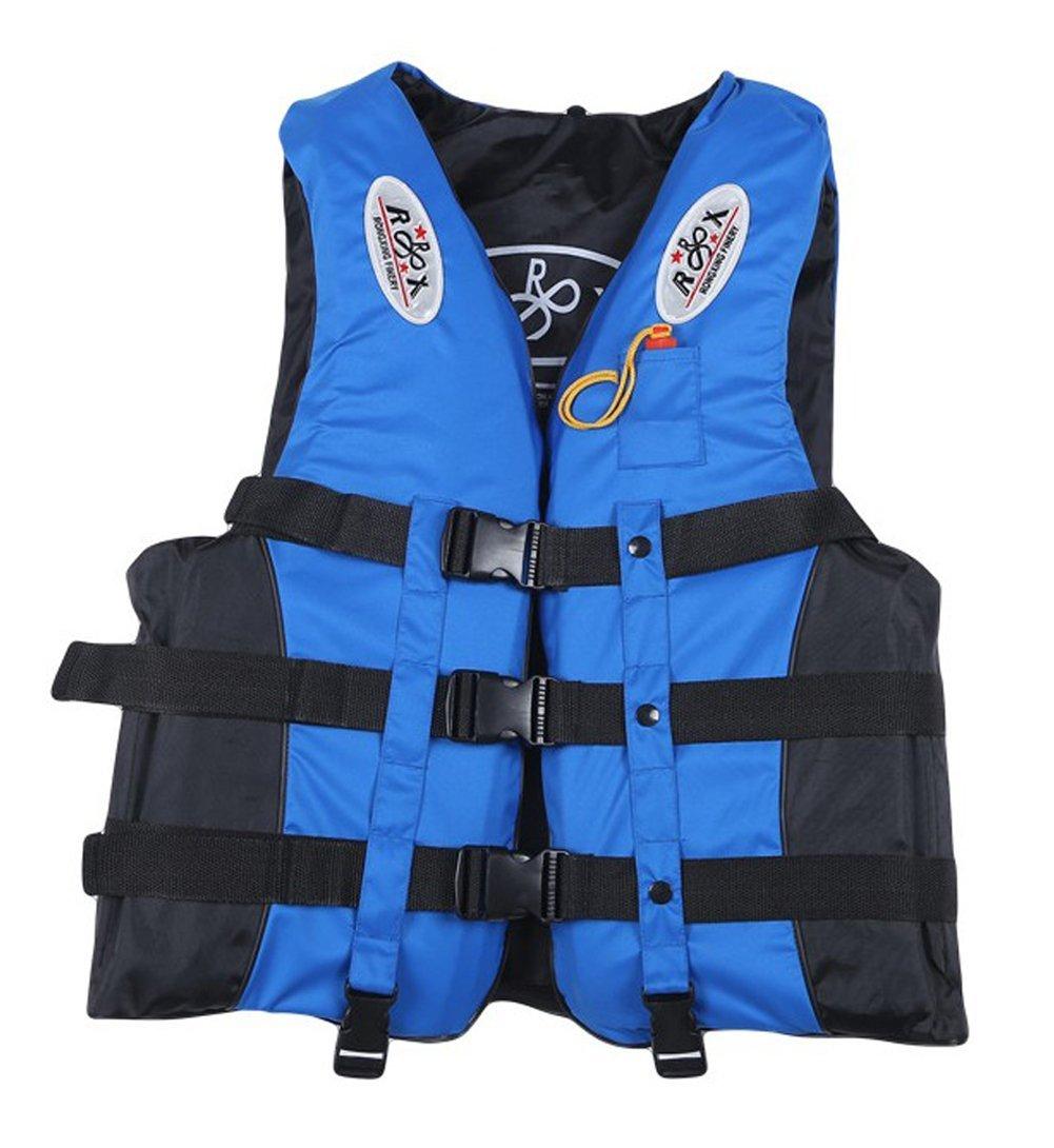 Yokoke Swimming Boating Drifting Safety Life Jacket Vest with Whistle