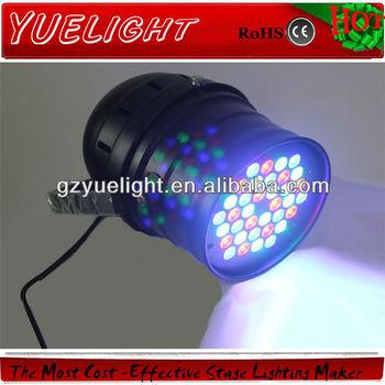 Dmx Rgb Led Par 64 Can 36pcs X1w Led Lights