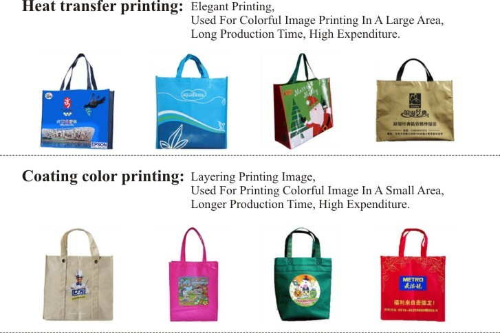 Qetesh Custom Lamination Shopping Cheap Non Woven Bag
