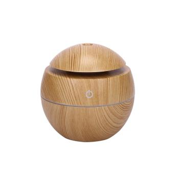 Wholesale Electric Color Changing Air Mini Wood Humidifier fragrance diffuser 130 ml wood humidifier