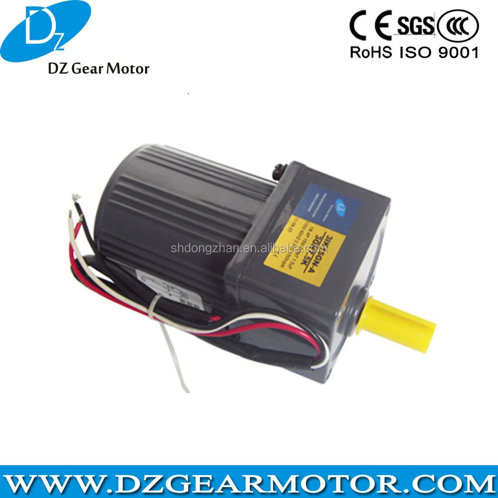 100mm 180W 220V Small Rotating Motor with Ratio 1:5