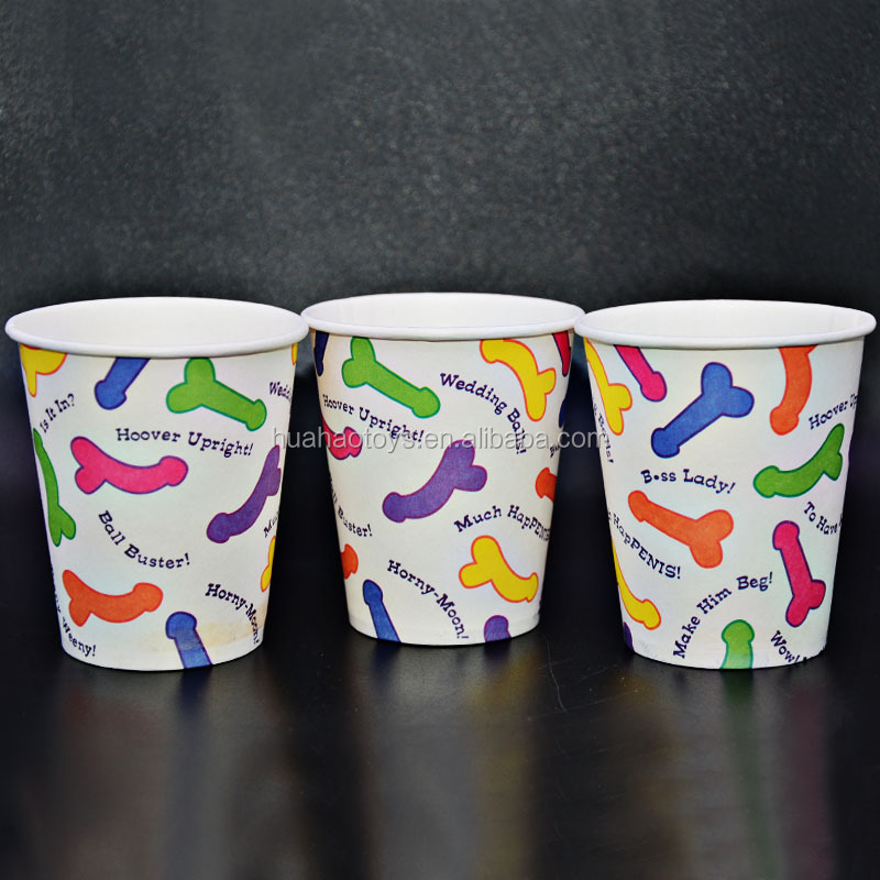 Bachelorette Party Supplies 6pcs Sexy Paper Cup For Sale