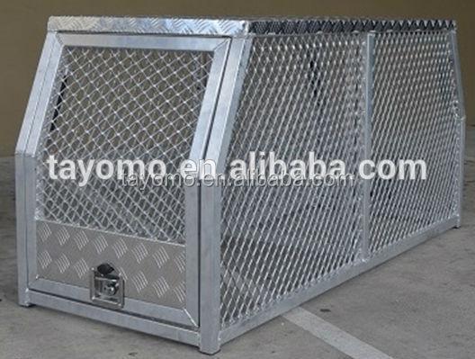 aluminum dog case dog crate dog house pet cage for trucks