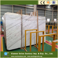 Top quality new quarry polished Volakas white marble