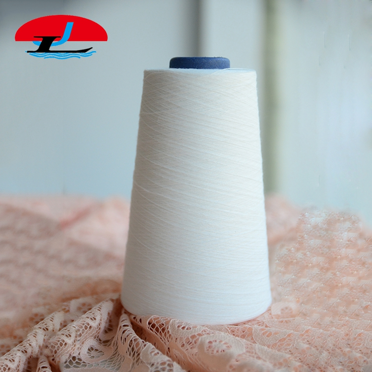 China Ring Spun Full Dull 30s Reliance 100 Polyester Yarn
