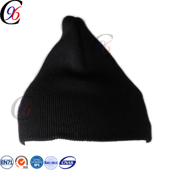 d96e7dcf183 Chengxing unisex winter outdoor jacquard woven knitted grey fabric beanie  hat