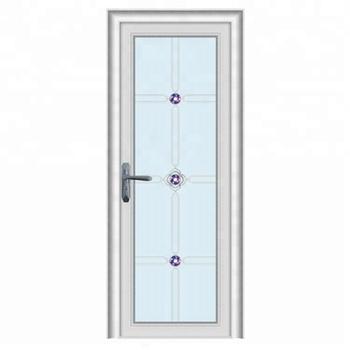 Aluminum Half Glass Soundproof Bathroom Swing Door Price ...