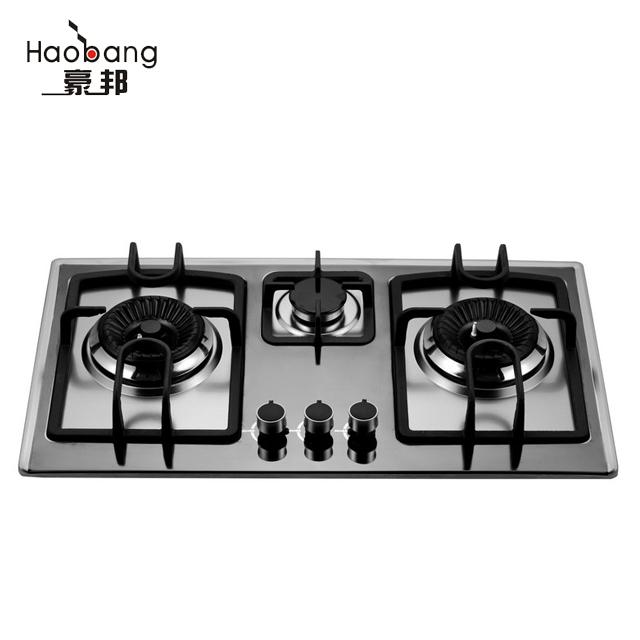 Three Burner Cooking Gas Stove Gl