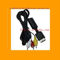 For SONY PS1 PS2 PS3 SYSTEM AV Audio Video Cable Cord