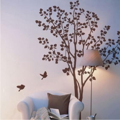 Fresh natural decoration wall stickers