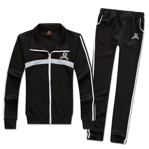Wholesale high quality custom sports mens tracksuits and fleece jogging suits for women