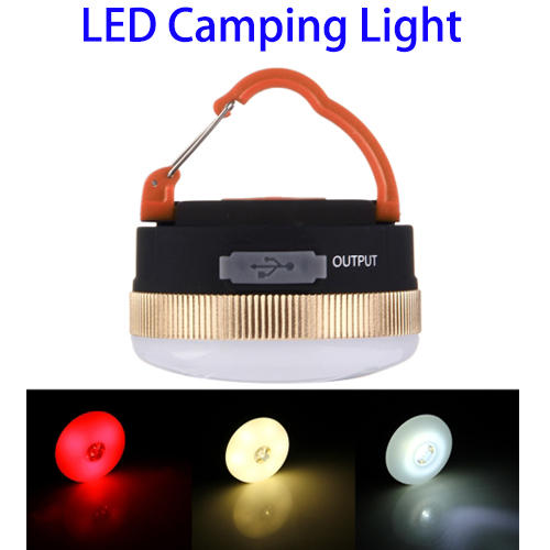 New Products 3W 300LM Rechargeable Portable Multifunctional Magnetic Outdoor Tent Camping Light
