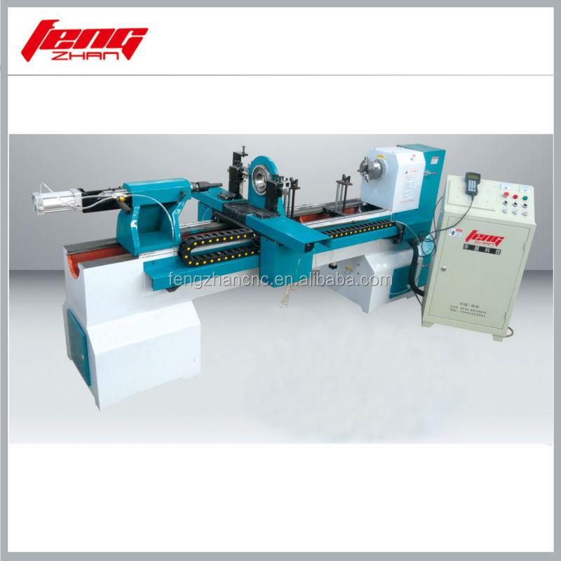 high speed baseball bat cnc wood turning lathe---basic model