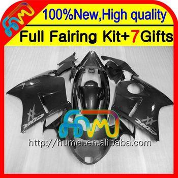 Silver Grey 7gifts For HONDA CBR1100XX 96 97 98 99 00 01 CBR1100 XX 42CL57 CBR
