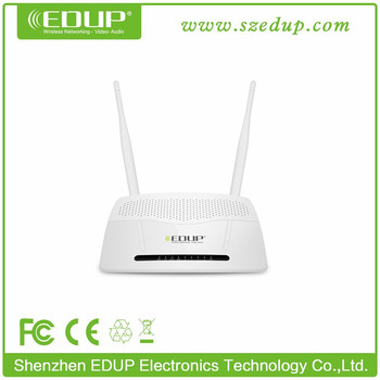Manufacturer 300Mbps with 2*6dBi Antenna Wifi Router password external antenna