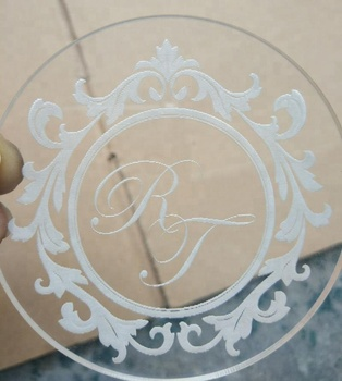 Laser Engraving Clear Acrylic Glass Coasters - Buy Acrylic Coaster,Glass  Coaster,Clear Glass Coasters Product on Alibaba com