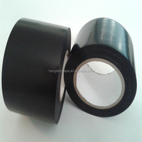 High Quality PVC Black/colorful Pipe Wrapping Tape with 0.13 thickness OEM welcomed