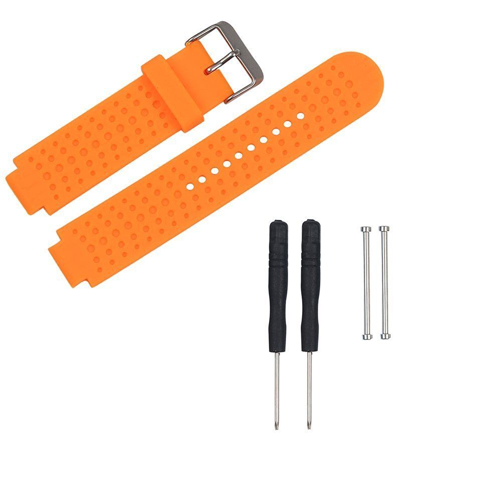 Replacement Bands and Straps for Garmin Forerunner 735XT GPS Running Watch - Orange