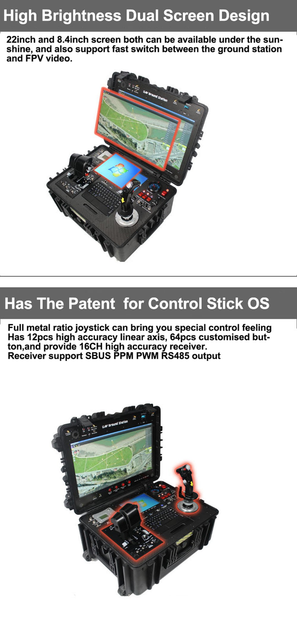 Professional Ultra Long Distance Remote Control System
