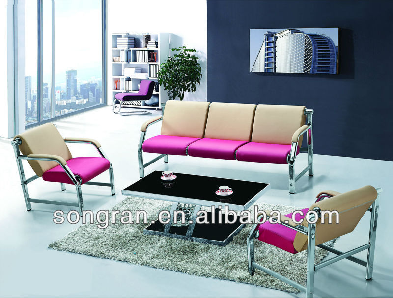 Modern Pink Leather Sofa Set, Modern Pink Leather Sofa Set Suppliers And  Manufacturers At Alibaba.com
