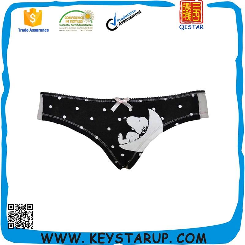 348d03e5455 Gravity Cartoon Lovely Girl Sexy Seamless Underwear Shorts Women Briefs
