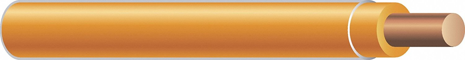 500 ft. Solid Building Wire with THHN Wire Type and 10 AWG Wire Size, Orange