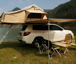 Directly factory Waterproof Roof Top Pop-up Car Camping Outdoor Tent with Awning