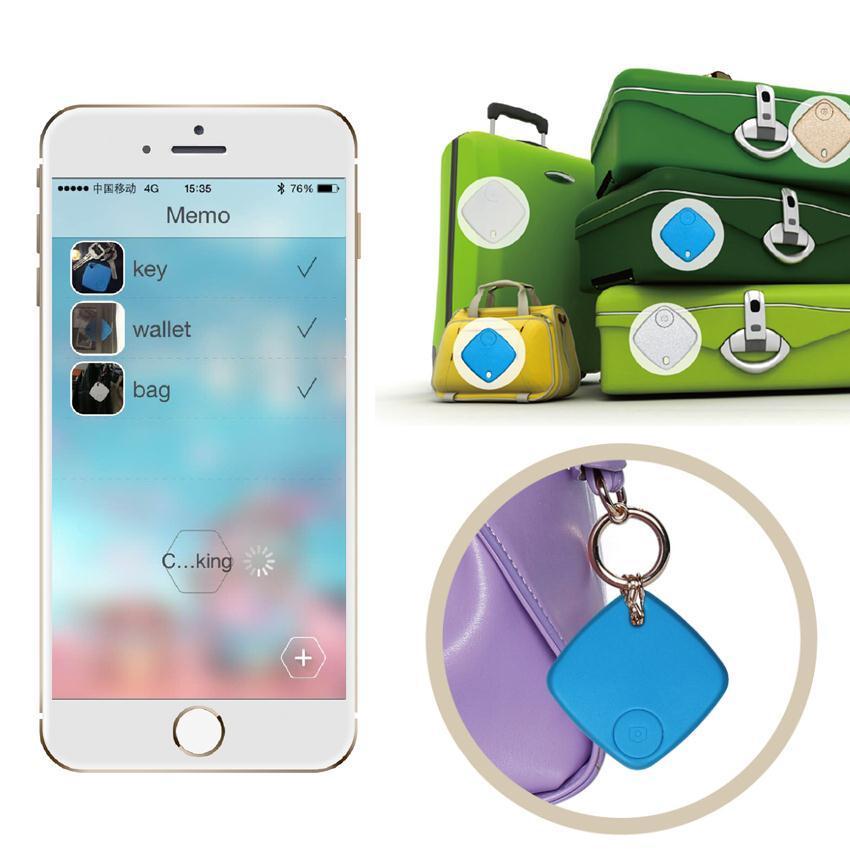 Bluetooth Gps Tracker For Child Bag Wallet Keys Pet Smart