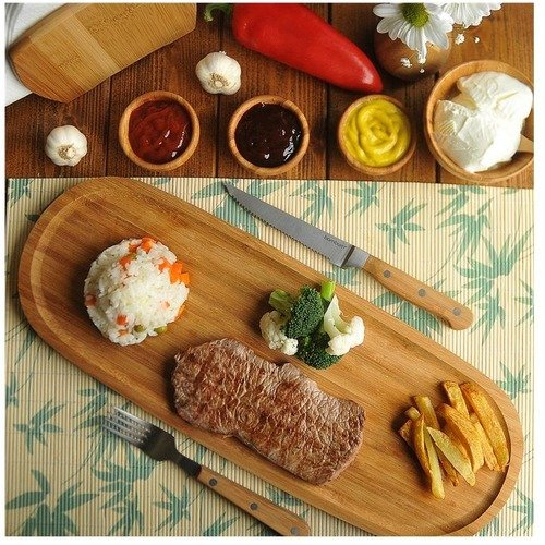 Special-Shape-Serving-Platter-Bamboo-Platter-With