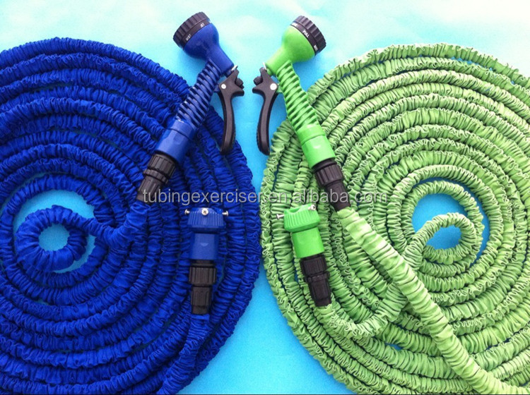 flexible expanding garden hose washing car/ water hose pipe free gun