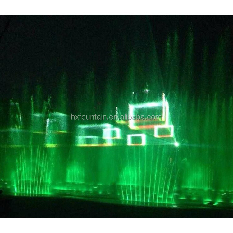 3D Projector Laser Water Screen Holographic Music Laser Fountain