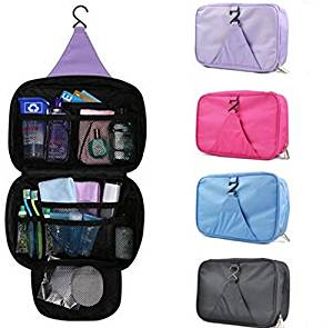 Luxury Wash Bag Toiletry Toiletries Travel Makeup Mens Las Hanging Folding Cosmetics Organizer Storage Container For Outdoor