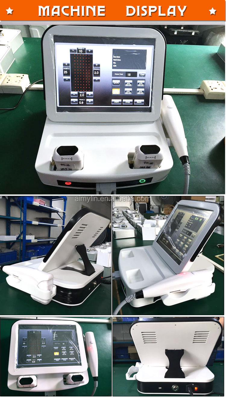 Newest 3D HIFU face lifting machine