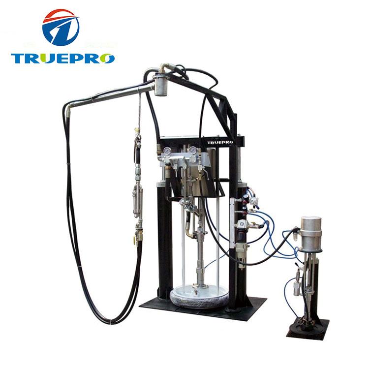 Pneumatico a due componenti sigillante estrusore/silicone macchina di erogazione